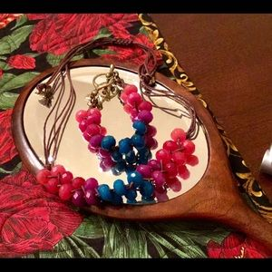 Jewelry - BOHO CHIC. BEADS AND CORDS SET